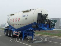 Lingyu CLY9401GFL medium density bulk powder transport trailer