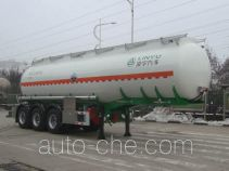Lingyu CLY9401GFWA corrosive materials transport tank trailer