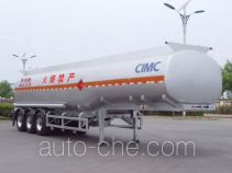 Lingyu CLY9401GRYA flammable liquid tank trailer
