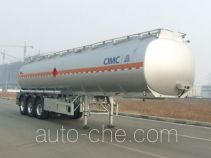 Lingyu CLY9401GRYC flammable liquid aluminum tank trailer