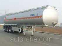 Lingyu CLY9401GRYE flammable liquid aluminum tank trailer
