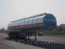 凌宇牌CLY9401GRYH型铝合金易燃液体罐式运输半挂车