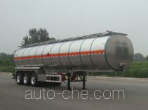 Lingyu CLY9401GRYL flammable liquid aluminum tank trailer