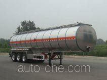 CIMC Lingyu CLY9401GRYL flammable liquid aluminum tank trailer