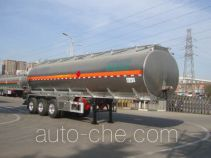 Lingyu CLY9401GRYN flammable liquid aluminum tank trailer