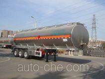 CIMC Lingyu CLY9401GRYN flammable liquid aluminum tank trailer