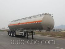 Lingyu CLY9401GRYP flammable liquid aluminum tank trailer