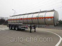 Lingyu CLY9401GRYS1 flammable liquid aluminum tank trailer