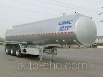 Lingyu CLY9401GSY edible oil transport tank trailer