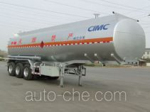 Lingyu CLY9404GRYD flammable liquid tank trailer
