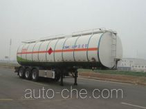 Lingyu CLY9404GRYE flammable liquid tank trailer