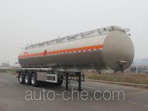 Lingyu CLY9405GYYA aluminium oil tank trailer