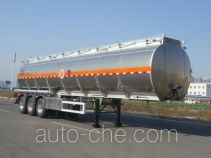 Lingyu CLY9407GYY aluminium oil tank trailer