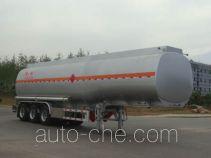 Lingyu CLY9407GYY1 aluminium oil tank trailer