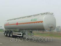 Lingyu CLY9407GYY2 aluminium oil tank trailer