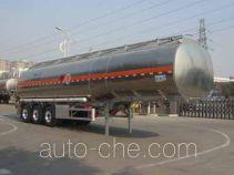 Lingyu CLY9407GYYA aluminium oil tank trailer