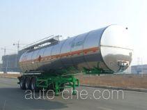 凌宇牌CLY9408GRYM型易燃液体罐式运输半挂车