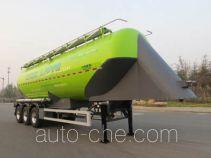 凌宇牌CLY9409GFL型铝合金中密度粉粒物料运输半挂车