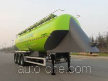 Lingyu CLY9409GFLA1 medium density bulk powder transport trailer