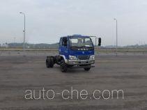 南骏牌CNJ3040EP31V型自卸汽车底盘