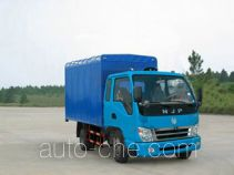 CNJ Nanjun CNJ5050XXPFP38 soft top box van truck
