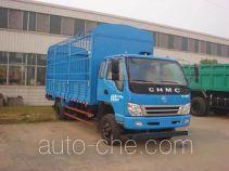 南骏牌CNJ5160CCYPP48M型仓栅式运输车