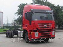 SAIC Hongyan CQ1255HMG50-594 truck chassis