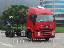 红岩牌CQ1255HTG50-594型载货汽车底盘