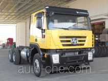 SAIC Hongyan CQ1256HMG38-474Z truck chassis