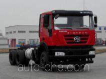 SAIC Hongyan CQ1256HMVG33-384 truck chassis