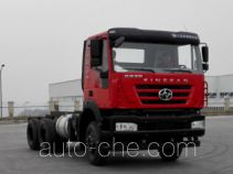 SAIC Hongyan CQ1256HMVG40-474 truck chassis