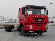 SAIC Hongyan CQ1256HMVG50-594 truck chassis