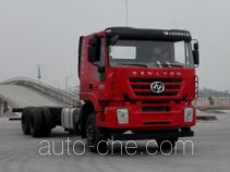 SAIC Hongyan CQ1256HTVG50-594 truck chassis