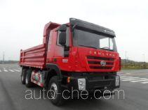 红岩牌CQ3255HTDG424L型自卸汽车