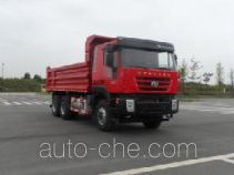 SAIC Hongyan CQ3255HTDG424S dump truck