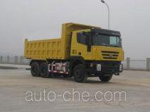 SAIC Hongyan CQ3255HTG334 dump truck