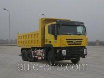 SAIC Hongyan CQ3255HTG384 dump truck