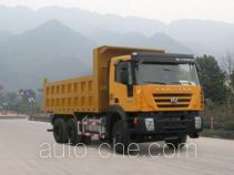 SAIC Hongyan CQ3255HTG424 dump truck