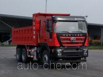 红岩牌CQ3256HMVG384LA型自卸汽车