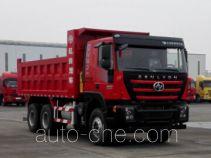 SAIC Hongyan CQ3256HTDG384L dump truck