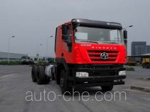 SAIC Hongyan CQ3256HXDG42-504 dump truck chassis