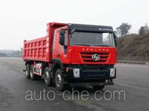 SAIC Hongyan CQ3316HMVG276L dump truck