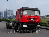 SAIC Hongyan CQ3316HMVG30-366 dump truck chassis