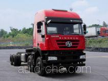 SAIC Hongyan CQ3316HTDG30-366 dump truck chassis