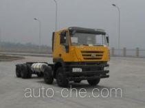 SAIC Hongyan CQ3316HTG39-466TB dump truck chassis