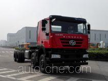 SAIC Hongyan CQ3316HXDG39-486 dump truck chassis