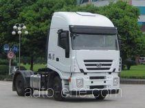 SAIC Hongyan CQ4184HVWG351C container transport tractor unit