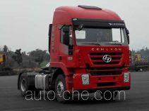 SAIC Hongyan CQ4185HTVG361C container carrier vehicle