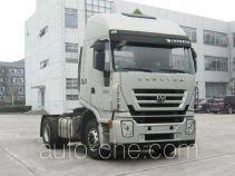 SAIC Hongyan CQ4185HTVG361U dangerous goods transport tractor unit