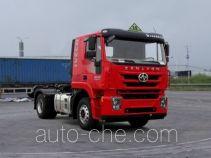 SAIC Hongyan CQ4186HMDG361U dangerous goods transport tractor unit